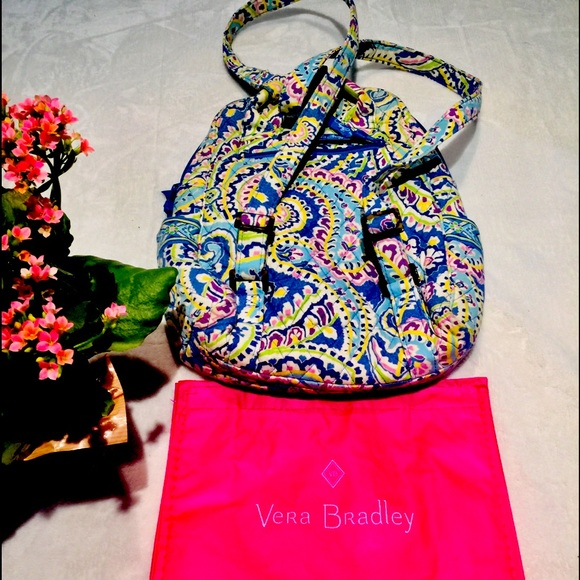 Small Vera Bradley Backpack Very nice condition